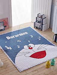 baratos -tapete de banho de desenhos animados retângulo criativo de algodão