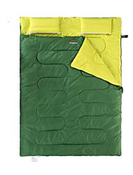 Недорогие -Naturehike Спальный мешок Двойная ширина 5°C Сохраняет тепло Компактность Толстые Походы На открытом воздухе Двуспальный комплект (Ш 200