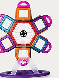 baratos -Blocos Magnéticos / Blocos de Construir 98pcs Arquitetura Transformável Para Meninas Dom