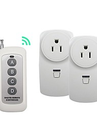 economico -broadlink 1 a 2 us plug switch di controllo remoto wireless rf per uso domestico intelligente con rm pro