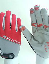 Недорогие -Спортивные перчатки Перчатки для велосипедистов Спортивные перчатки Сохраняет тепло Пригодно для носки Дышащий Анти-шоковая защита Полный