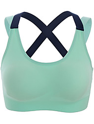 cheap -Women's Sports Bras Fast Dry for Yoga Running/Jogging Exercise & Fitness Nylon Black Green Pink Grey S M L XL