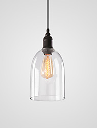 cheap -Cylinder Pendant Light Ambient Light - Mini Style, 110-120V / 220-240V Bulb Not Included / 5-10㎡ / E26 / E27