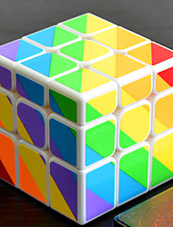Недорогие -Кубик рубик YONG JUN Чужой Неравнодушный куб 3*3*3 Спидкуб Кубики-головоломки головоломка Куб профессиональный уровень Скорость Подарок