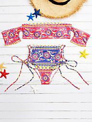 cheap -Women's Bikini - Print, Artistic Style Pant