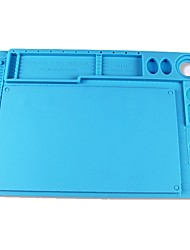 cheap -Anti-static Electronic Maintenance Platform Table Pad ESD Heat Insulation Silicone Mat For Phone BGA Soldering Repair Tools--Blue