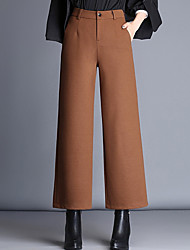cheap -Women's Vintage Chinos Pants - Solid