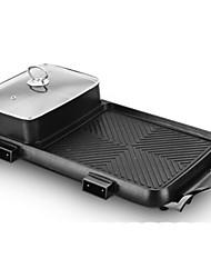 abordables -Grill électrique Multifonction Alliage de fer Cuisinières thermiques 220V Appareil de cuisine