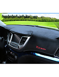 abordables -Automobile Matrice de tableau de bord Tapis Intérieur de Voiture Pour Hyundai 2015 2016 2017 New Tucson