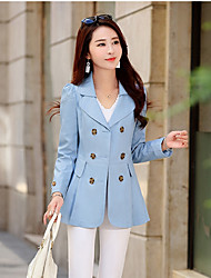cheap -Women's Sports & Outdoors Trench Coat-Solid Colored