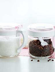baratos -Vidro Gadget de Cozinha Criativa Armazenamento de alimentos 2pçs Organização de cozinha