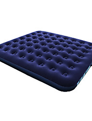 cheap -Bestway® Air Mattress Moistureproof/Moisture Permeability Portable Foldable Inflated Travel Rest Stretchy Compact Flocked Flocking