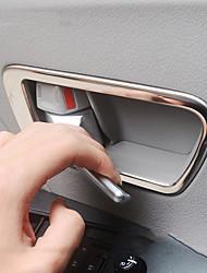 economico -copertura di protezione del bracciolo di porta automobilistica diy interni di auto per toyota 2011 2012 2013 2014 2015 2016 2017 acciaio