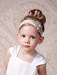 Недорогие -Дети Девочки Хлопок Аксессуары для волос Белый Один размер / Хайратники