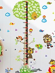 Недорогие -Животные Наклейки Простые наклейки Декоративные наклейки на стены, деревянный Украшение дома Наклейка на стену Окно