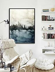 voordelige -Landschap Olieverfschilderij Muurkunst,Legering Materiaal Met frame For Huisdecoratie Ingelijste kunst Voor Binnen