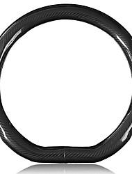 cheap -Steering Wheel Covers Genuine Leather 38cm Black For Volkswagen Bora / Tiguan / Passat All years