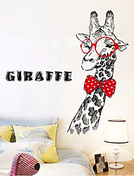cheap -Decorative Wall Stickers - Animal Wall Stickers Abstract / Animals Kids Room / Game Room