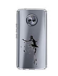 preiswerte -Hülle Für Motorola E4 Plus Muster Rückseitenabdeckung Sexy Lady Weich TPU für Moto X4 Moto E4 Plus Moto E4