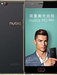 Недорогие -zte nubia m2 lite 5.5 '' 4g смартфон (3gb + 64gb 13mp + 16mp mt6750 окта ядро ​​3000mah)