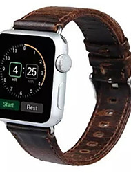 abordables -Bracelet de Montre  pour Apple Watch Series 3 / 2 / 1 Apple Boucle Moderne Cuir Sangle de Poignet