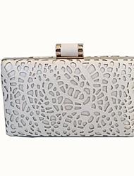 Недорогие -Мешки стекло Металл Вечерняя сумочка Кристаллы для Для праздника / вечеринки Все сезоны Белый