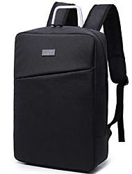 preiswerte -Herrn Taschen Oxford Tuch Rucksack Reißverschluss für Draussen Schwarz / Hell Gray