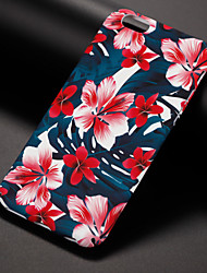 preiswerte -Hülle Für iPhone 7 plus iPhone 7 iPhone 6s Plus iPhone 6 Plus iPhone 6s iPhone 6 Apple iPhone 8 iPhone 8 Plus Muster Rückseite Blume Hart