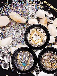 economico -abiti strass cristallo chiodo glitter caffè osso beige set bianco