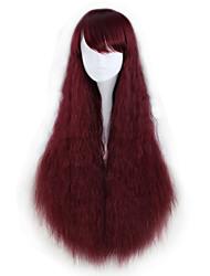 economico -Parrucche lolita Lolita Rosso Principessa Parrucche Lolita 88 CM Parrucche Cosplay Halloween Parrucche Per