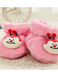 cheap -Baby Shoes Fleece Winter Fall Comfort First Walkers Boots for Casual Light Blue Pink Light Yellow