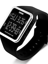 Недорогие -Детские Для пары Повседневные часы Спортивные часы Модные часы Китайский Цифровой Календарь Секундомер Защита от влаги Хронометр