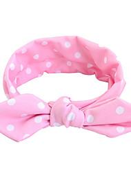 economico -capelli dei bambini con le orecchie di coniglio di stoffa di stoffa ragazze di fascia copricapo di capelli accessori per capelli 2pcs