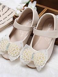 preiswerte -Mädchen Schuhe Künstliche Mikrofaser Polyurethan Frühling Sommer Schuhe für das Blumenmädchen Komfort Flache Schuhe Walking