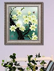 economico -Romanticismo Ad olio Decorazioni da parete,Lega di alluminio Materiale con cornice For Decorazioni per la casa Cornice Camera da letto Al