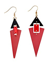 cheap -Women's Drop Earrings Acrylic Formal Casual Colorful Acrylic Alloy Geometric Jewelry Formal New Year Costume Jewelry