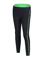 abordables -Femme Pantalons de Course Respirabilité Pantalon / Surpantalon Course / Running Polyester, Spandex Rouge de Rose / Vert S / M / L