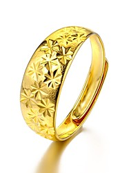 cheap -Men's Cuff Ring - Gold Plated The Union Jack Basic, Fashion Adjustable Gold For Causal / Daily