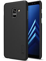 Недорогие -Кейс для Назначение SSamsung Galaxy A8 2018 A8 Plus 2018 Защита от удара Матовое Сплошной цвет Твердый для