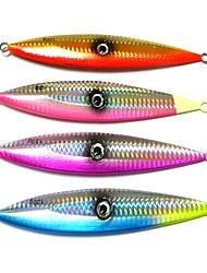 baratos -1 pçs Iscas Isco de Metal Metal Pesca de Mar Pesca Voadora Isco de Arremesso Pesca no Gelo Rotação Pesca de Gancho Pesca de Água Doce