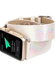 economico -cinturino per apple watch serie 3/2/1 mela cinturino da polso fibbia moderna in vera pelle