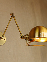 cheap -Mini Style Vintage Modern/Contemporary Swing Arm Lights For Living Room Dining Room Metal Wall Light 220-240V 110-120V 4W