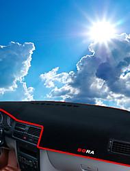 economico -Settore automobilistico Dashboard Mat Tappetini interno auto Per Volkswagen Bora