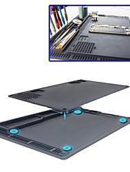 Недорогие -антистатическая электронная платформа для обслуживания платформы для настольных компьютеров esd теплоизоляция силиконовый коврик для
