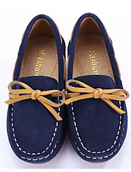 cheap -Boys' / Girls' Shoes Nubuck leather / Leather Spring Comfort Loafers & Slip-Ons for Dark Blue / Dark Green