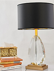 cheap -Artistic Crystal Table Lamp For Crystal 220-240V Black