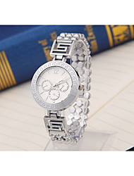 cheap -Women's Quartz Sport Watch Chinese Casual Watch Alloy Band Luxury Casual Fashion Cool Silver Gold Rose Gold