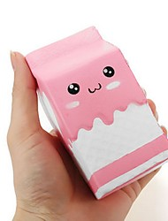 cheap -LT.Squishies Squeeze Toy / Sensory Toy Square Emoji Office Desk Toys Stress and Anxiety Relief Decompression Toys Novelty Food&Drink All
