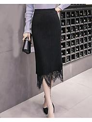 preiswerte -Damen Einfach Bodycon Röcke - Solide