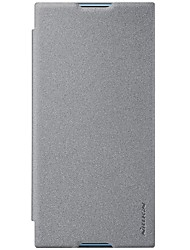 economico -Custodia Per Sony Xperia XZ1 Xperia X compact Porta-carte di credito Con chiusura magnetica Effetto ghiaccio Integrale Tinta unica